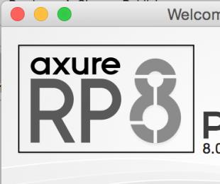 Axure RP 8.0授权及过期的说明 axure8.0激活码 Licence Key